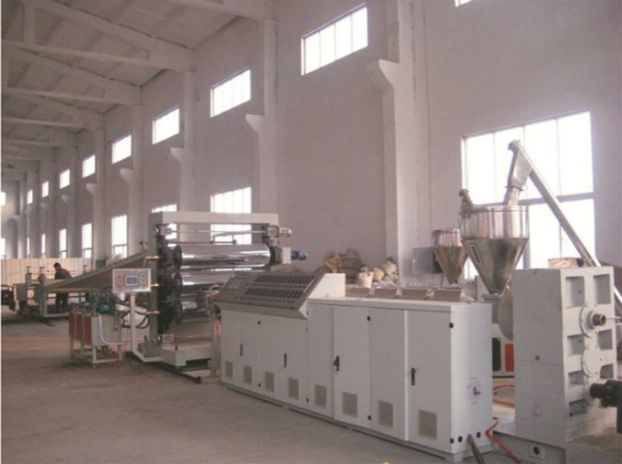PP/PE plastic sheet production line