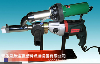 Portable plastic extrusion torch